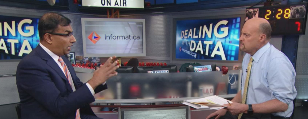 Informatica's Data Management Highlighted on CNBC's Mad Money